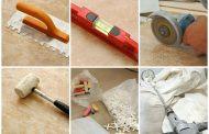 Инструменты применяемые при укладке облицовочного камня.