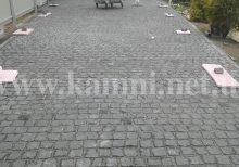 укладка гранитной брусчатки купить Киев