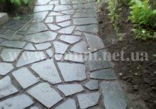 укладка гранита в саду цена Киев
