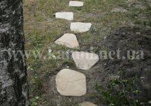 доріжки з дикого каменю Київ