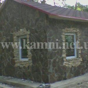 дом полностью из камня Киев