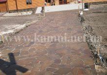 Укладання доріжок натуральним каменем Київ