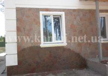песчаник на стену работа цена Киев