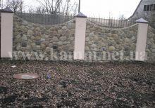 речной камень для облицовки Киев цена