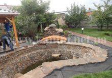 купить речной камень для пруда Киев