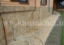 природный камень для облицовки цоколя Киев