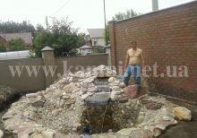 сделать водопад Киев цена