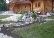 водопад в ландшафтном дизайне Киев